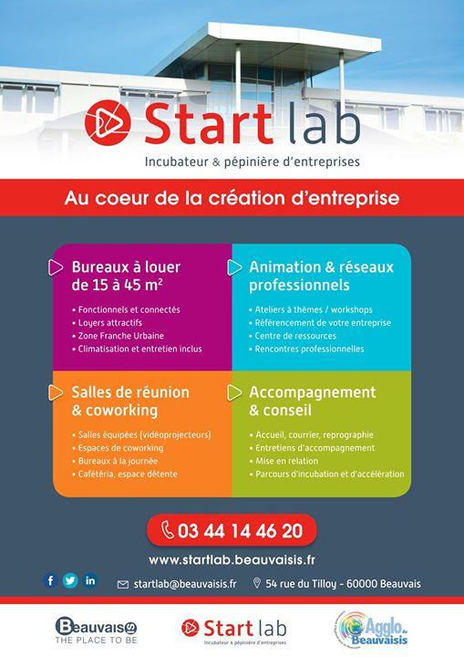Start lab au coeur de la création d'entreprise
